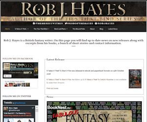 Rob J Hayes - Author