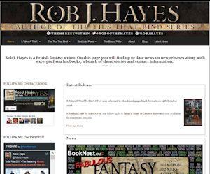 Rob J Hayes - Author